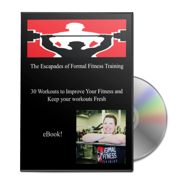 escapades of formal fitness training ebook cover